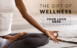 The Gift of Wellness 1 Design | Digital Cobranded Gift Cards in Bulk for Employees and Clients.