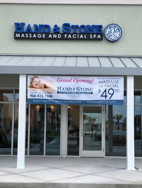 Hand & Stone Massage and Facial Spa - Jacksonville Beach store front