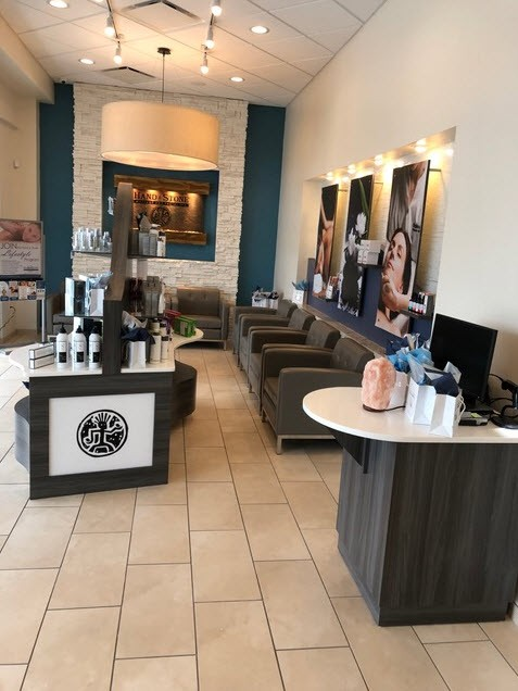 Hand & Stone Massage and Facial Spa - Jacksonville Beach waiting area