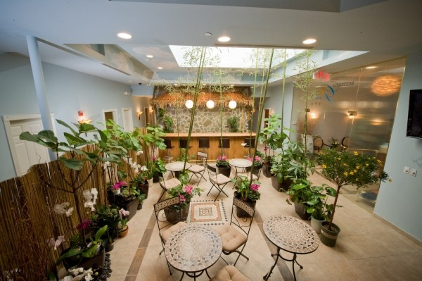 Butterfly Garden Spa Relaxation Room